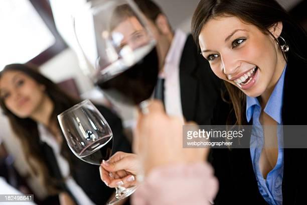 ワインでの乾杯