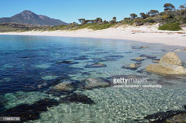 Wineglass Bay, Freycinet National Park, Freycinet Peninsula, Tasmania, Australia, Pacific