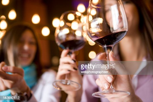 Wineglass in hand