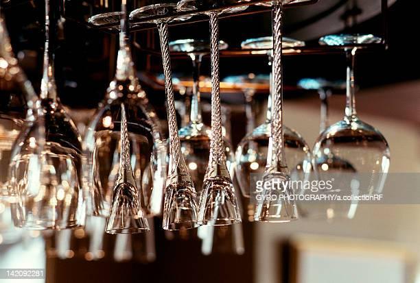 Wineglasses Hanging