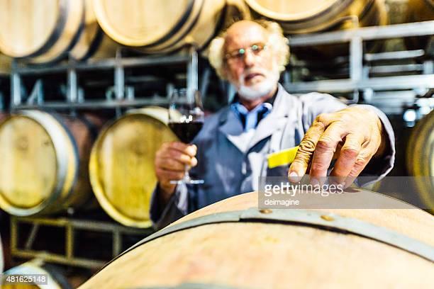 Winemaker in your wine cellar