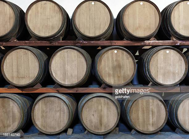 Winery oak, barrels at a Bodega on Lanzarote