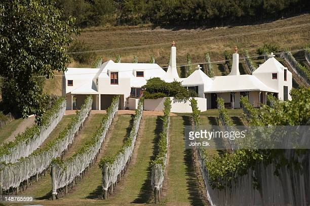 Winery with vineyard.