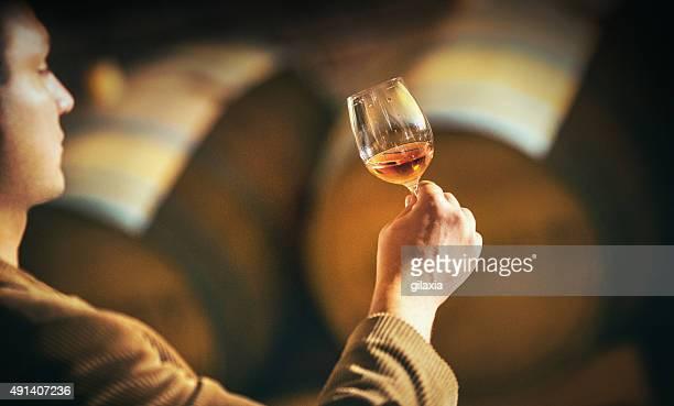 Degustazione di vino.