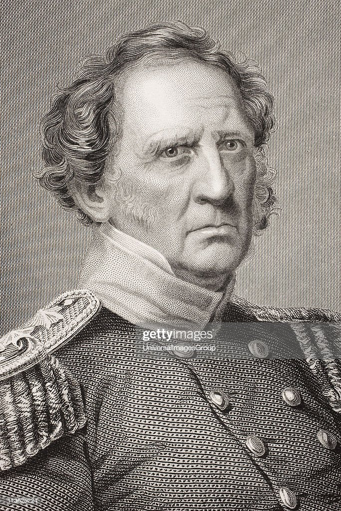 a biography of winfield scott a us general Lieutenant general winfield scott's mexican campaign of 1847 4as  unprecedented in american military history this campaign, along with scott's  many other.