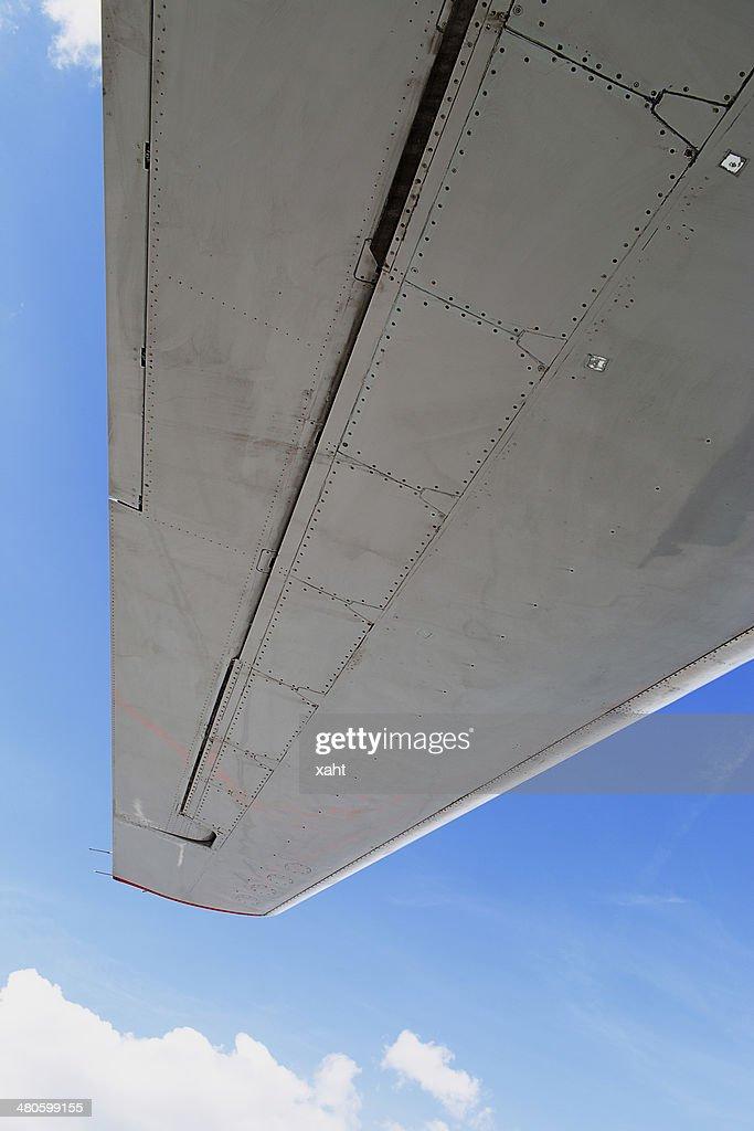 Wing aircraft : Stock Photo