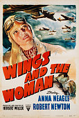 Wings and the Woman World War II Movie Poster