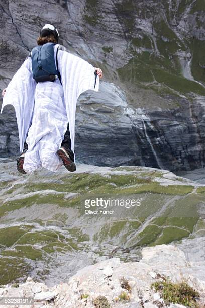 Wingsuit jumper is going to Proxyfly