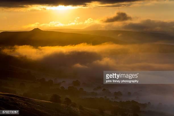 Winhill sunrise, Peak District