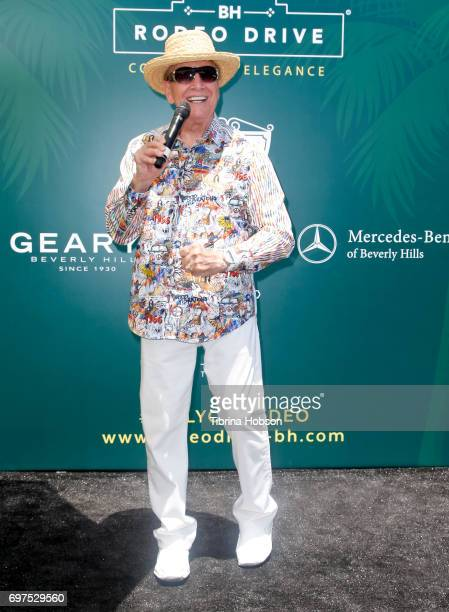 Wink Martindale attends the Rodeo Drive Concours d'Elegance on June 18 2017 in Beverly Hills California