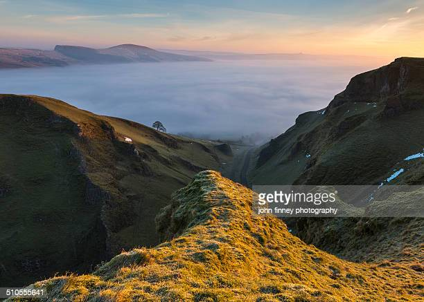 Winnats pass sunrise, Castleton sunrise