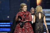 Winner Adele at THE 55TH ANNUAL GRAMMY AWARDS The music industry's premier event will take place Sunday Feb 10 at STAPLES Center in Los Angeles on...