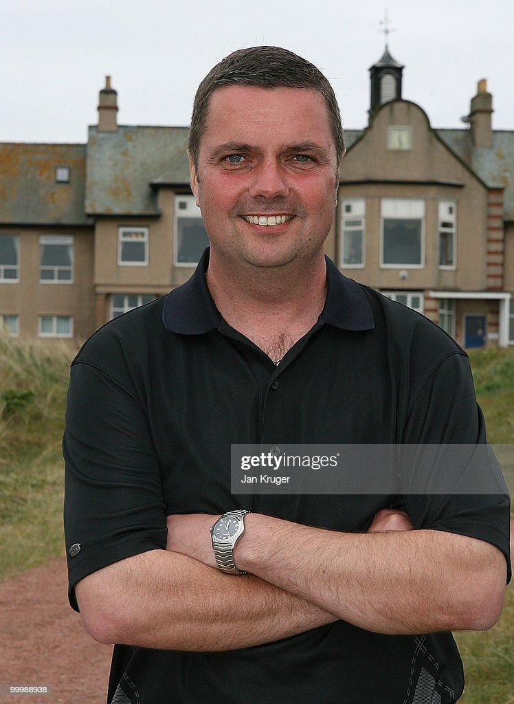 Winner Alex Rowland of Hawarden is photographed at the end of play during the Virgin Atlantic PGA National Pro-Am Championship regional final at St Annes Old Links Golf Club on May 19, 2010 in Lytham St Anne's, England.