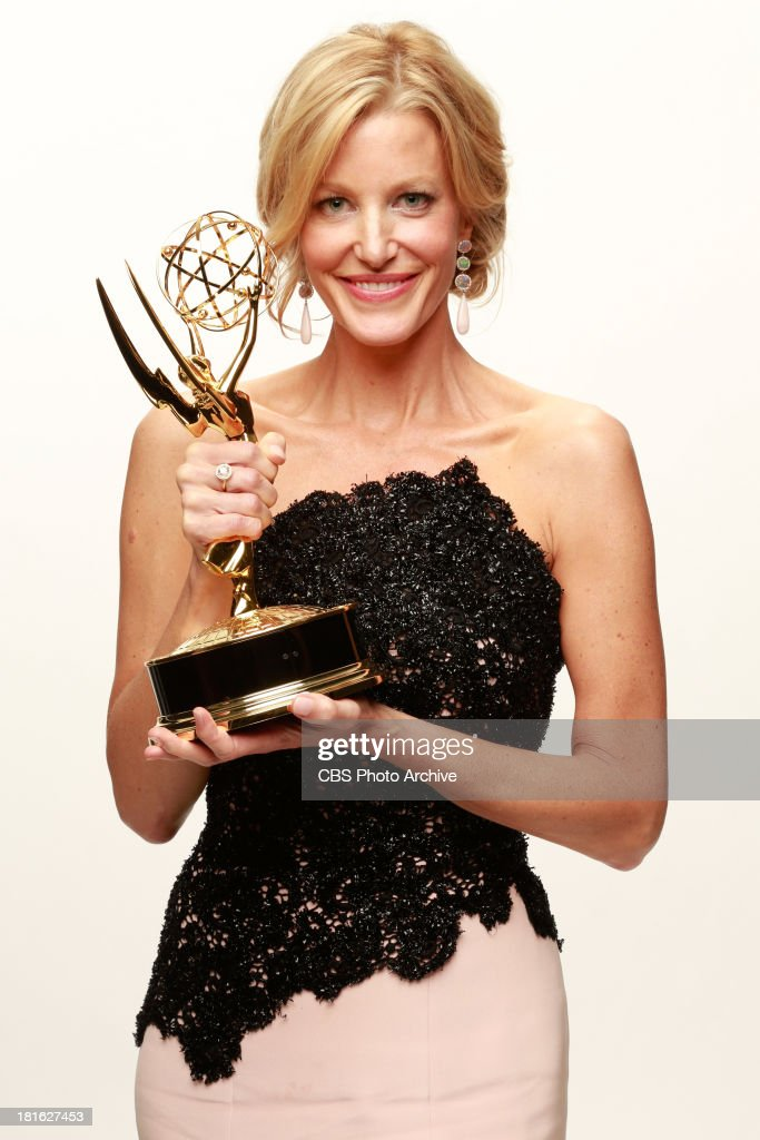 Winner, <a gi-track='captionPersonalityLinkClicked' href=/galleries/search?phrase=Anna+Gunn&family=editorial&specificpeople=589359 ng-click='$event.stopPropagation()'>Anna Gunn</a>, Supporting Actress in a Drama series for BREAKING BAD during the 65th Primetime Emmy Awards which will be broadcast live across the country 8:00-11:00 PM ET/ 5:00-8:00 PM PT from NOKIA Theater L.A. LIVE in Los Angeles, Calif., on Sunday, Sept. 22 on the CBS Television Network.