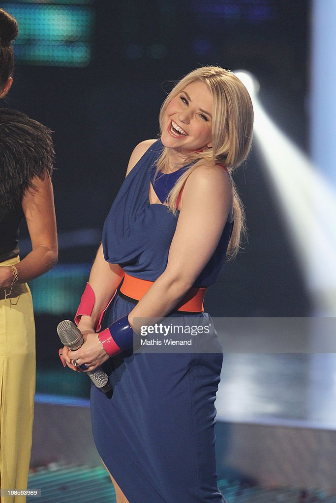 DSDS winner Beatrice Egli during the 'Deutschland sucht den Superstar' Finals on May 11, 2013 in Cologne, Germany.