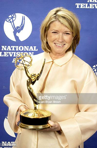 Martha Stewart Living during 31st Annual NATAS Daytime Emmy Craft Awards Press Room at Mariott Marquis in New York City New York United States