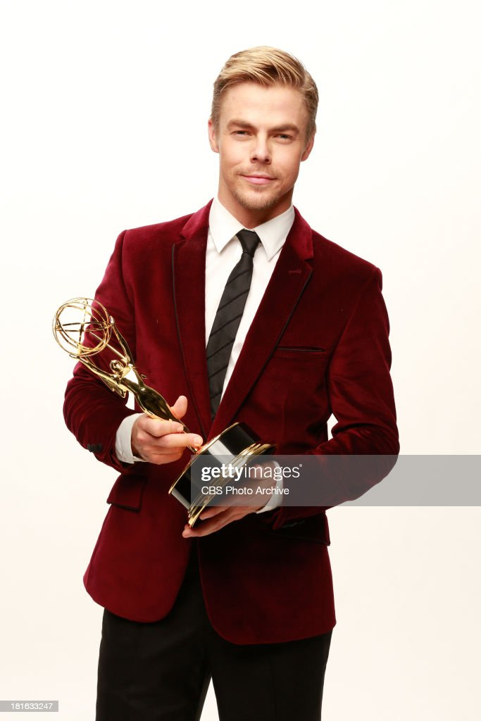 Winner, <a gi-track='captionPersonalityLinkClicked' href=/galleries/search?phrase=Derek+Hough&family=editorial&specificpeople=4532214 ng-click='$event.stopPropagation()'>Derek Hough</a>, for Outstanding Choreography for DANCING WITH THE STARS during the 65th Primetime Emmy Awards which will be broadcast live across the country 8:00-11:00 PM ET/ 5:00-8:00 PM PT from NOKIA Theater L.A. LIVE in Los Angeles, Calif., on Sunday, Sept. 22 on the CBS Television Network.