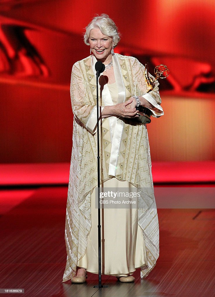Winner, Ellen Burstyn, during the 65th Primetime Emmy Awards which will be broadcast live across the country 8:00-11:00 PM ET/ 5:00-8:00 PM PT from NOKIA Theater L.A. LIVE in Los Angeles, Calif., on Sunday, Sept. 22 on the CBS Television Network.