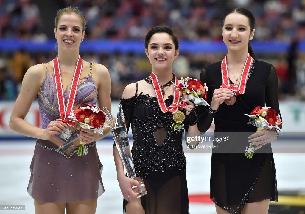 Полина Цурская - Страница 13 Winner-evgenia-medvedeva-of-russia-poses-with-secondplace-carolina-picture-id872780634