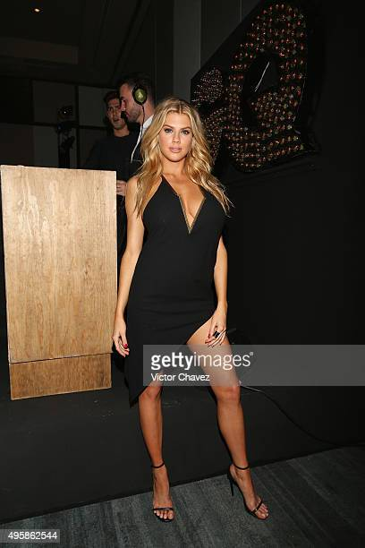 Winner female model of the year Charlotte McKinney attends the GQ Mexico Men of The Year 2015 awards at Live Aqua Bosques hotel on November 4 2015 in...