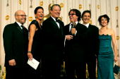 TELECAST*** Winner for Best Documentary Features for 'An Inconvenient Truth' producers Scott Burns and Laurie David Former vice president of the...