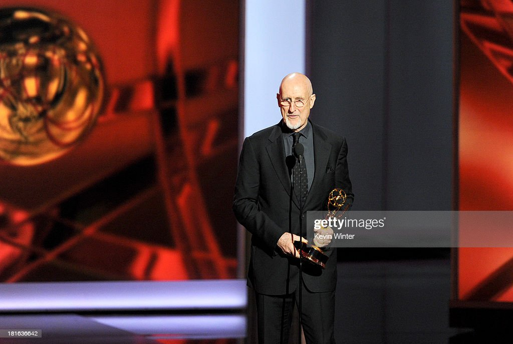 Winner for Best Supporting Actor in a Miniseries or Movie, James Cromwell onstage during the 65th Annual Primetime Emmy Awards held at Nokia Theatre L.A. Live on September 22, 2013 in Los Angeles, California.