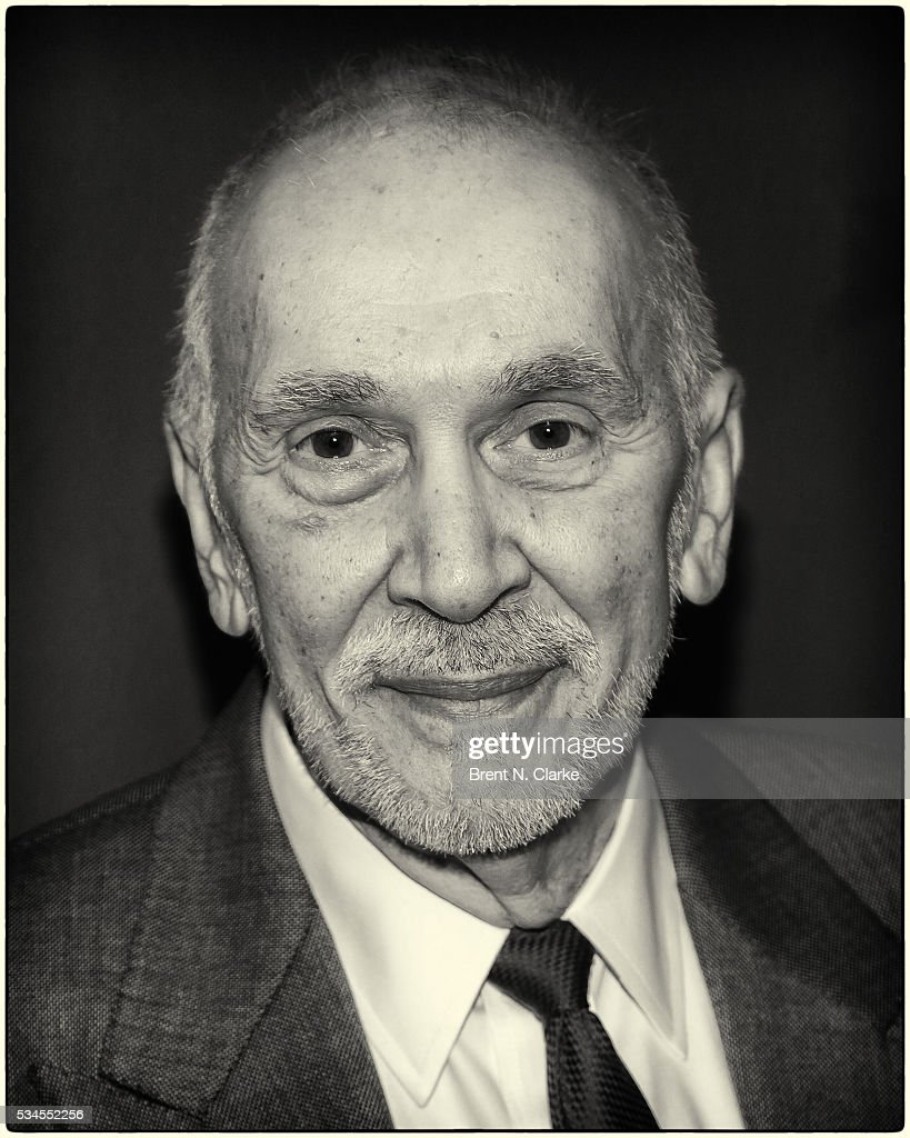 Winner for outstanding actor in a play, 'The Father', <a gi-track='captionPersonalityLinkClicked' href=/galleries/search?phrase=Frank+Langella&family=editorial&specificpeople=223970 ng-click='$event.stopPropagation()'>Frank Langella</a> attends the 66th Annual Outer Critics Circle Theatre Awards held at Sardi's on May 26, 2016 in New York City.