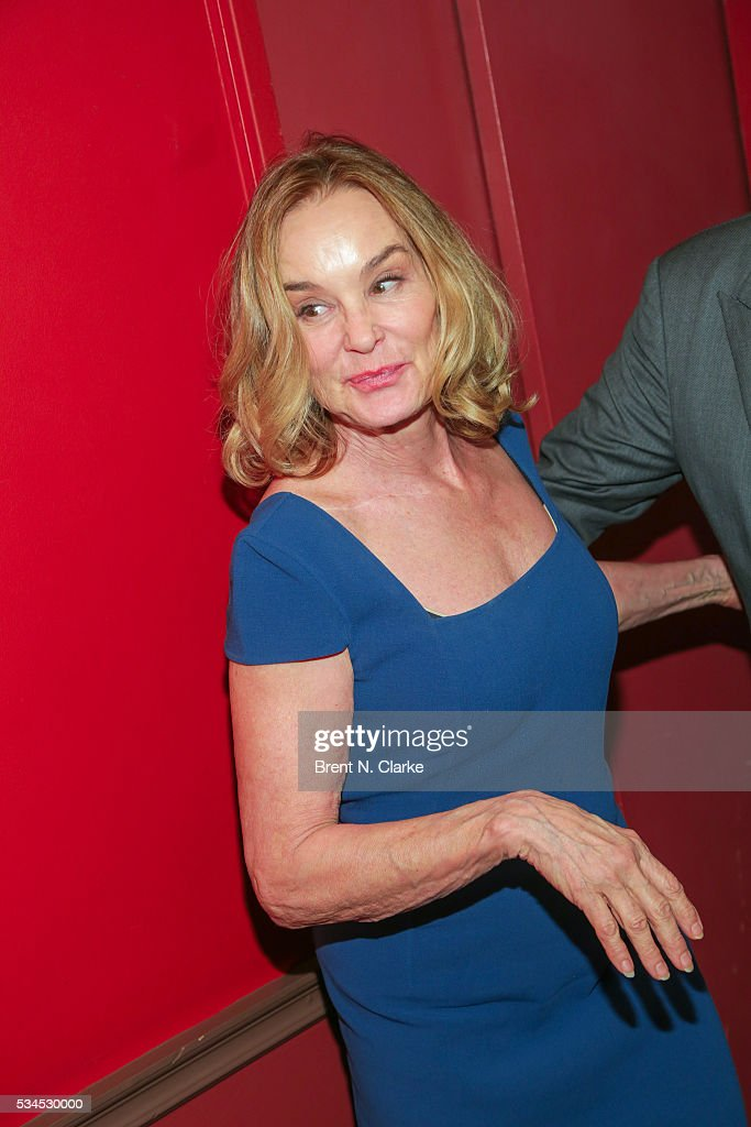 Winner for outstanding actress in a play, 'Long Day's Journey', <a gi-track='captionPersonalityLinkClicked' href=/galleries/search?phrase=Jessica+Lange&family=editorial&specificpeople=203310 ng-click='$event.stopPropagation()'>Jessica Lange</a> attends the 66th Annual Outer Critics Circle Theatre Awards held at Sardi's on May 26, 2016 in New York City.