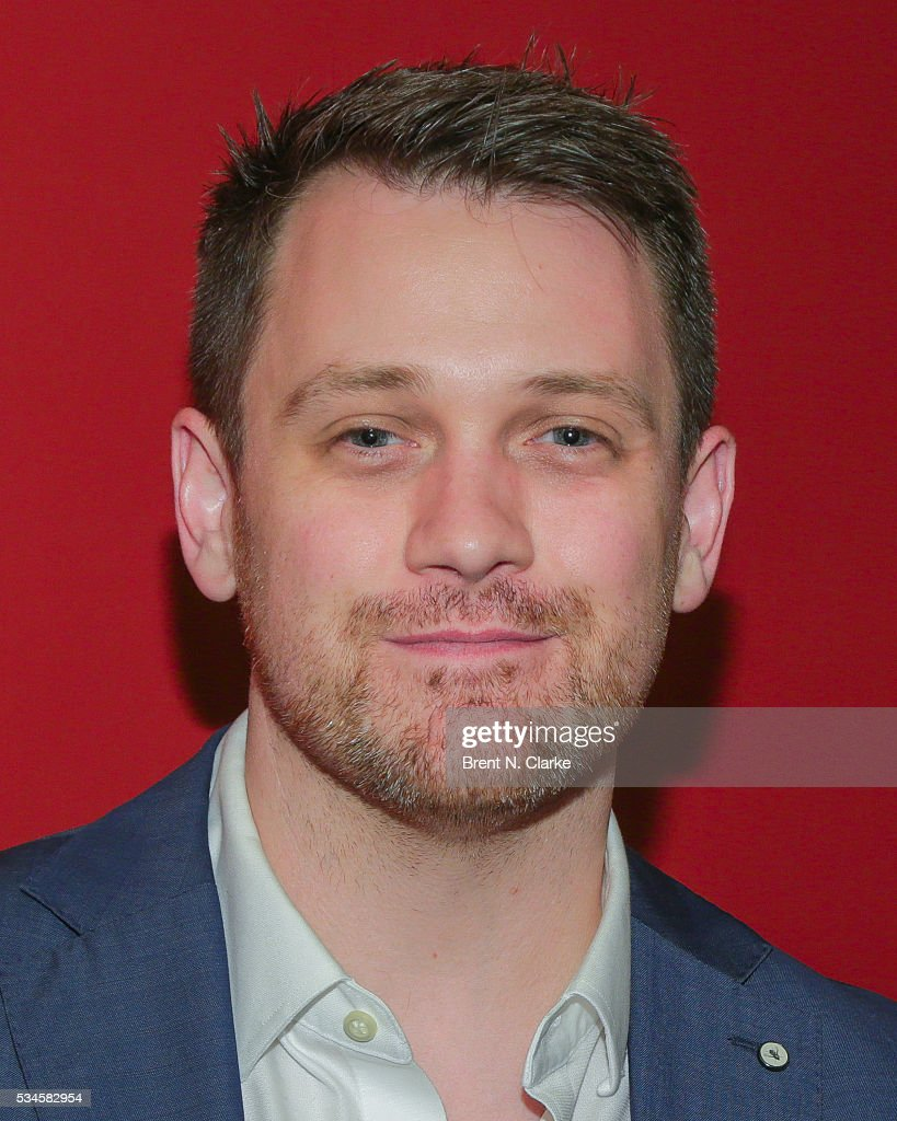 Winner for outstanding director of a musical, 'Spring Awakening', Michael Arden attends the 66th Annual Outer Critics Circle Theatre Awards held at Sardi's on May 26, 2016 in New York City.
