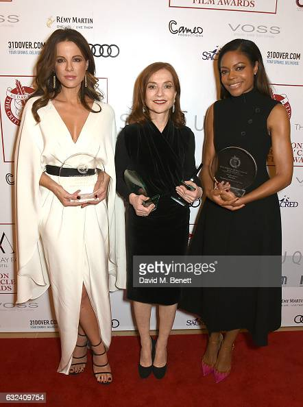 Winner of Best British/Irish Actress Kate Beckinsale winner of The Dilys Powell Excellence in Film Award and the Actress of the Year Award Isabelle...
