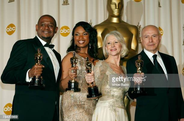 TELECAST*** Winner of Best Performance by an Actor in a Leading Role for 'The Last King Of Scotland' Forest Whitaker winner of Best Performance by an...