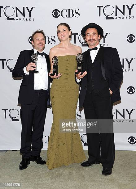 Winner of Best Performance by an Actor in a Leading Role in a Musical Norbert Leo Butz Winner of Best Performance by an Actress in a Leading Role in...