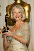 Winner of Best Performance by an Actress in a Leading Role for 'The Queen' Helen Mirren poses in the press room during the 79th Annual Academy Awards...