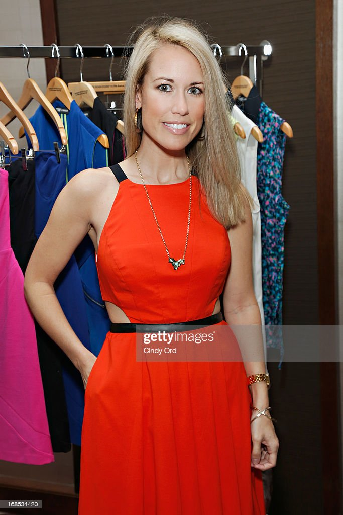 Winner of NBC's 'Fashion Star' Hunter Bell attends as Express hosts a breakfast to honor her on May 10, 2013 in New York City.