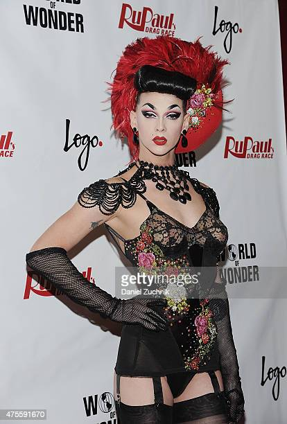 Winner of Rupaul's Drag Race Season 7 Violet Chachki attends 'RuPaul's Drag Race' Season 7 Finale And Coronation on June 1 2015 in New York City