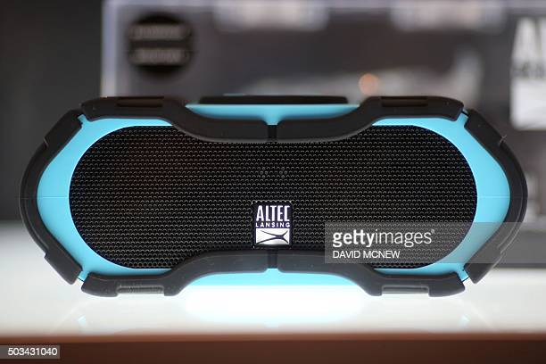 Winner of the 2016 CES Innovation Award for Portable Media Players and Accessories the Altec Lansing Boomjacket floatable submersible shock and...