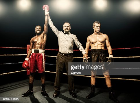 Winner of the boxing fight