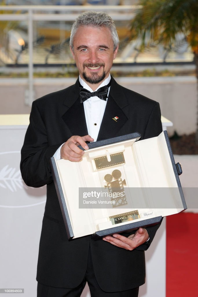 Winner of the Camera D'Or award for the film 'Ano Bisiesto' director Michael Rowe attends the Palme d'Or Award Ceremony Photo Call held at the Palais des Festivals during the 63rd Annual International Cannes Film Festival on May 23, 2010 in Cannes, France.