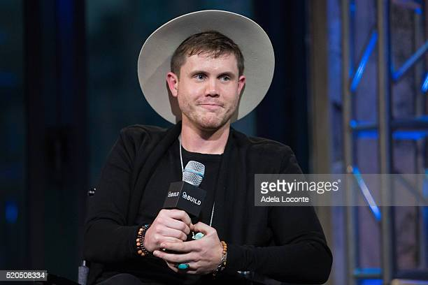 Winner Of The Final Season Of 'American Idol' Trent Harmon discusses at AOL Studios In New York on April 11 2016 in New York City