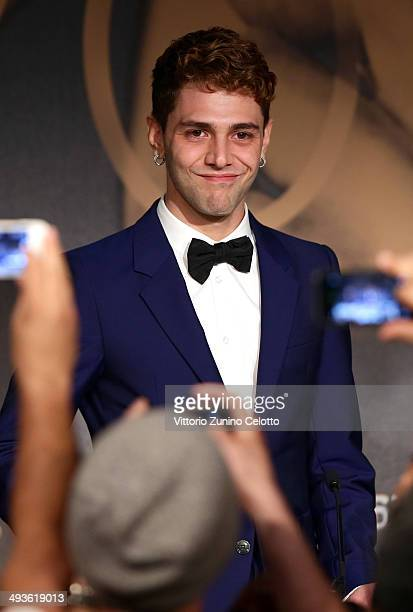 Winner of The Jury Prize director Xavier Dolan attends the Palme D'Or Winners press conference at the 67th Annual Cannes Film Festival on May 24 2014...
