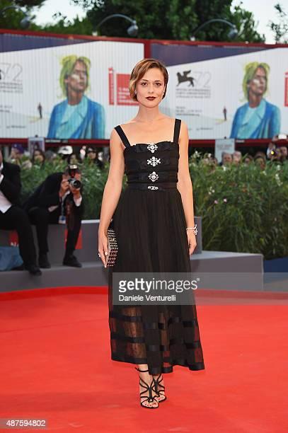 Winner of the 'L'Oreal Paris per il Cinema' award Valeria Bilello attends a premiere for 'Remember' during the 72nd Venice Film Festival at Sala...