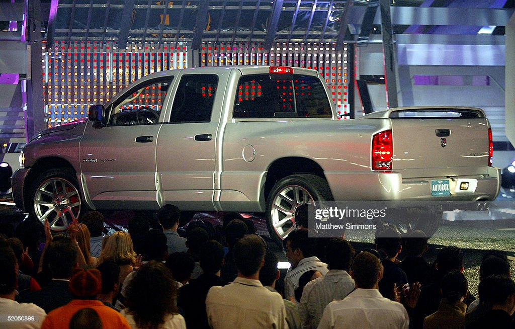 Winner of the Most Jammin' Truck Award the Dodge Ram onstage during the Spike TV Presents Auto Rox The Automotive Award Show at the Barker Hanger...
