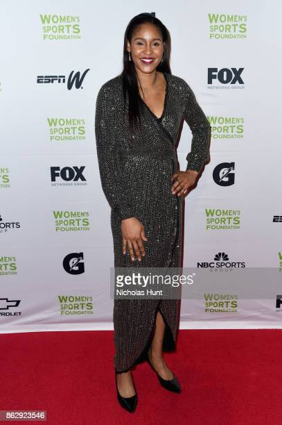 Winner of the Sportswoman of the Year in a team sport Maya Moore attends The Women's Sports Foundation's 38th Annual Salute To Women in Sports Awards...