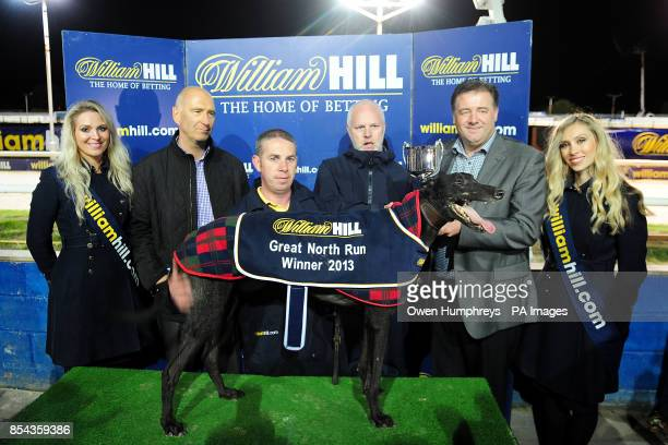 Winner of the Williamhillcom Great North Run Final 'Farloe Tango' with its owners