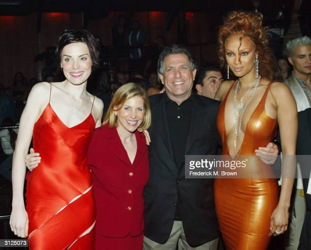Winner of UPN'S 'America's Next Top Model' Yoanna House President of Entertainment UPN Dawn Ostroff chairman and CEO of CBS Entertainment Leslie...