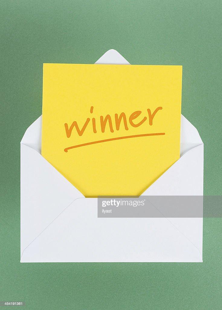 Winner : Stock Photo