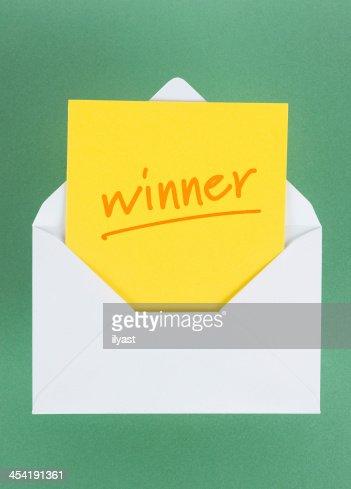 Ganador del premio : Foto de stock