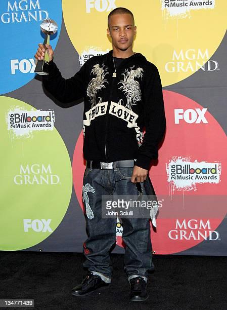 TI winner Rap Artist during 2006 Billboard Music Awards Press Room at MGM Grand in Las Vegas Nevada United States