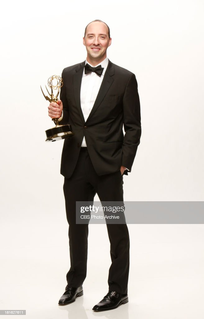Winner, <a gi-track='captionPersonalityLinkClicked' href=/galleries/search?phrase=Tony+Hale&family=editorial&specificpeople=745565 ng-click='$event.stopPropagation()'>Tony Hale</a>, Outstanding Supporting Actor In A Comedy series for VEEP during the 65th Primetime Emmy Awards which will be broadcast live across the country 8:00-11:00 PM ET/ 5:00-8:00 PM PT from NOKIA Theater L.A. LIVE in Los Angeles, Calif., on Sunday, Sept. 22 on the CBS Television Network.
