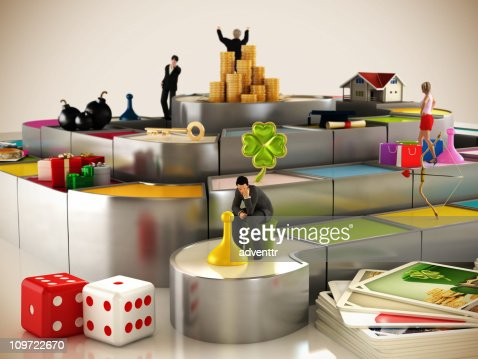 Winners and losers : Stock Photo